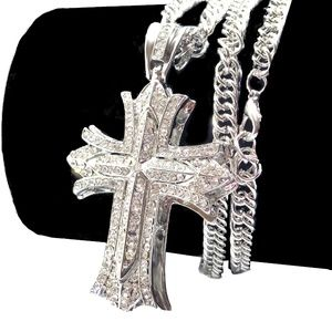 Other - Cross Hip Hop Iced Out Punk Bling Rap Jewelry